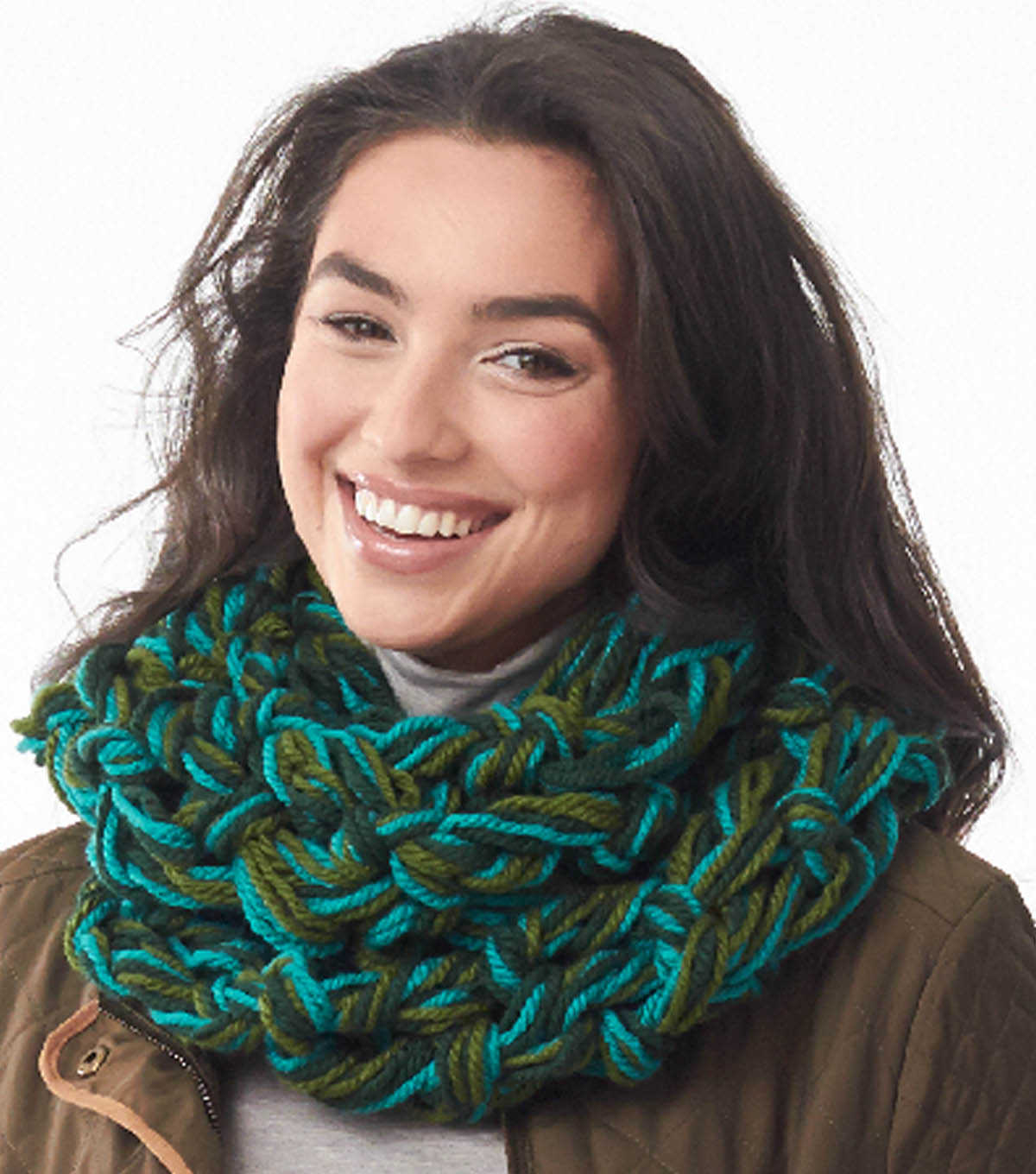 Field of Greens Arm Knit Cowl