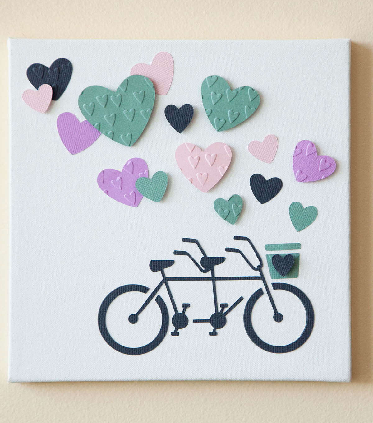Cross My Heart Bicycle Art