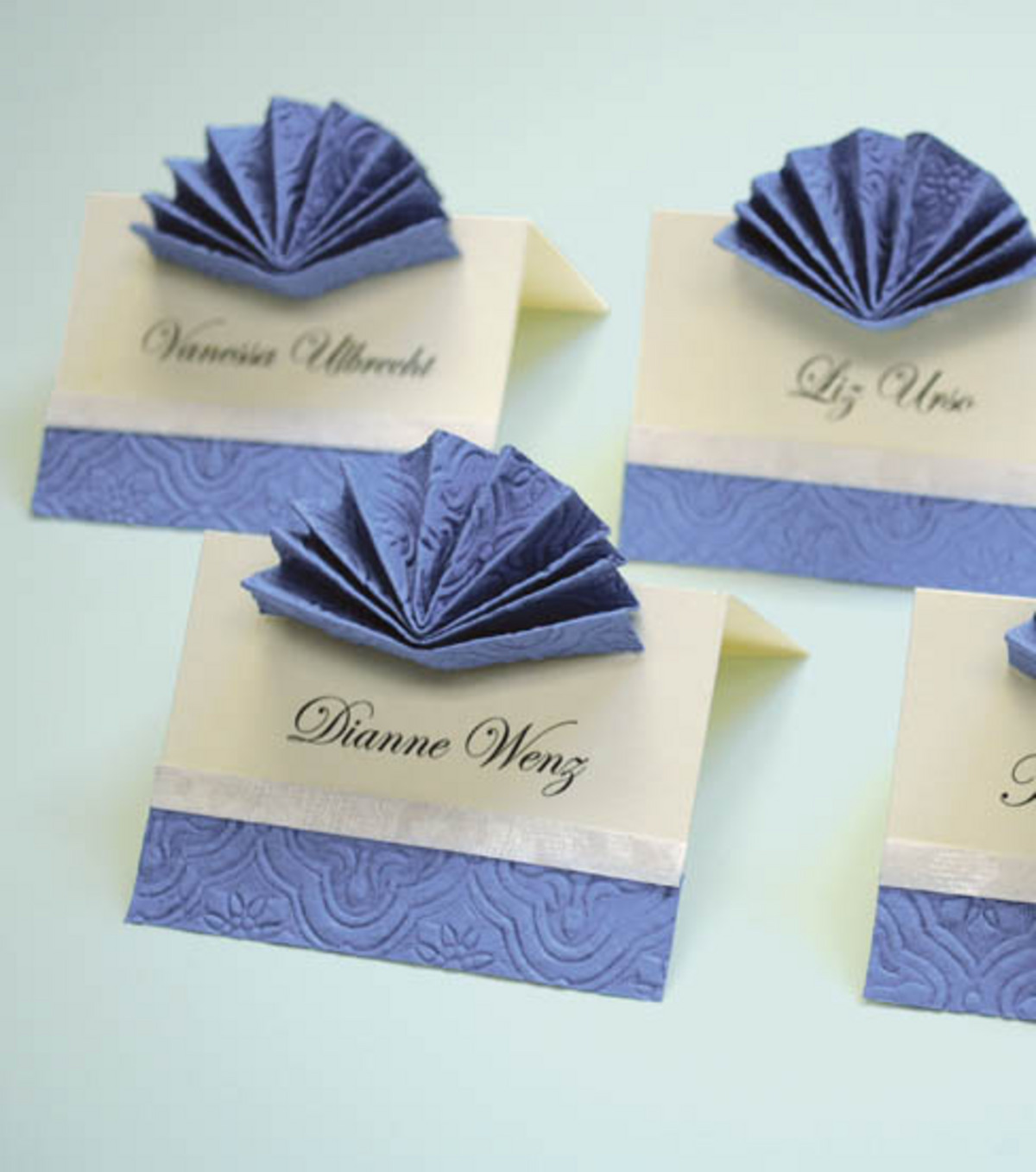Homemade Decorative Place Card