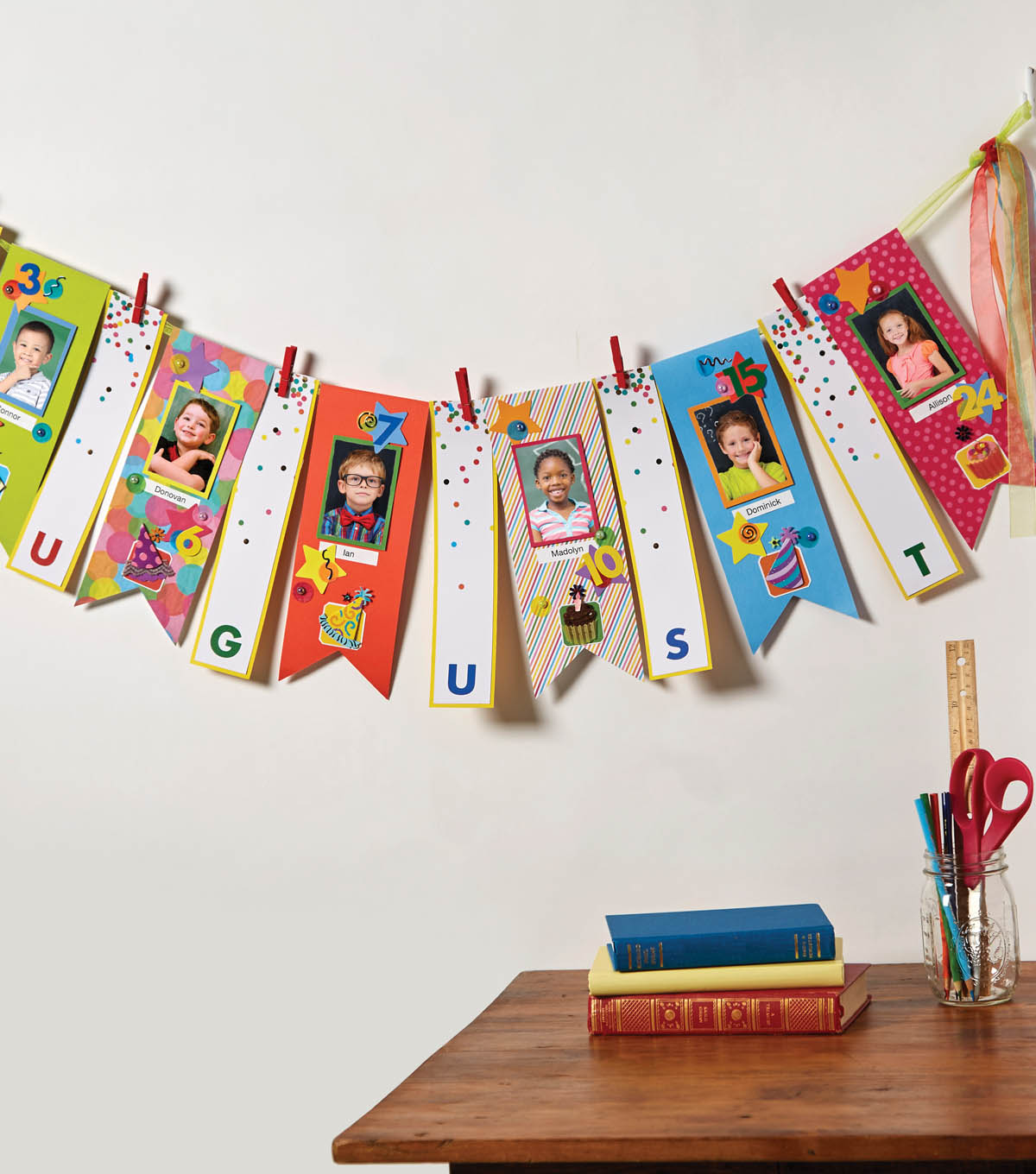 How To Create a Classroom Birthday Banner