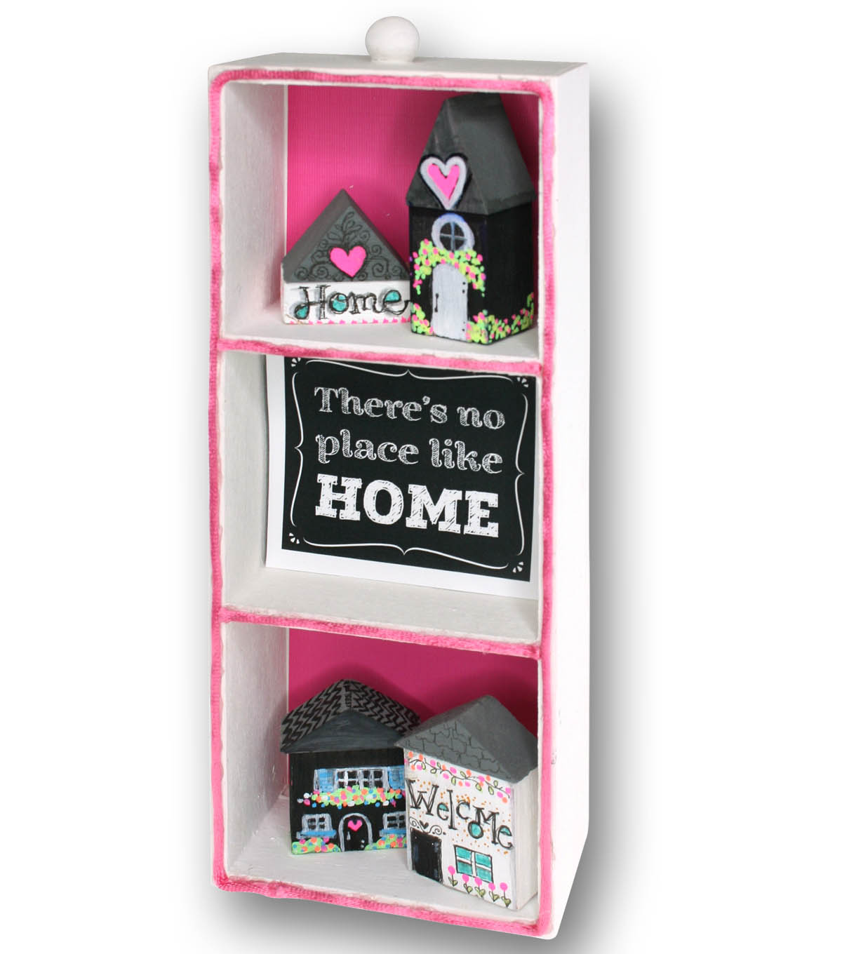 Home Sweet Home Miniature Display Box