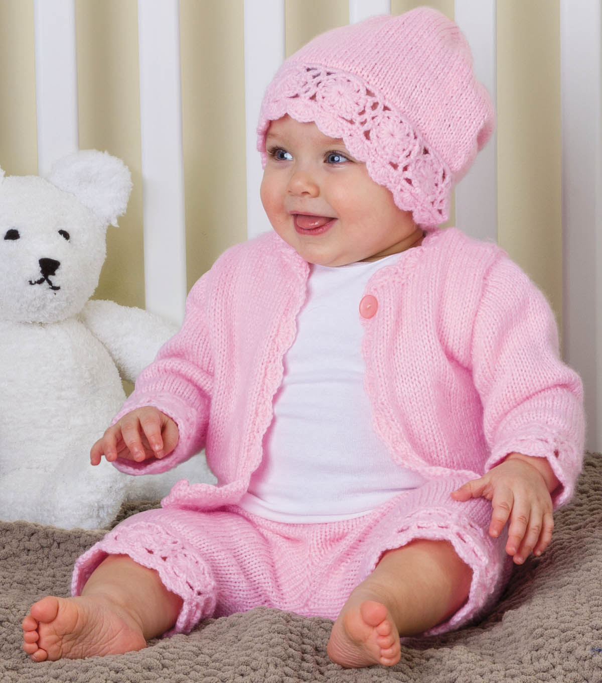 Sweet Layette Baby Set