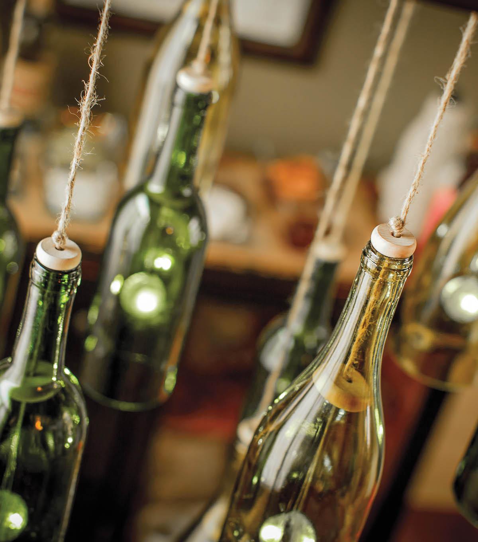 Diy wine bottle chandelier homemade chandeliers joann wine bottle chandelier mozeypictures Gallery