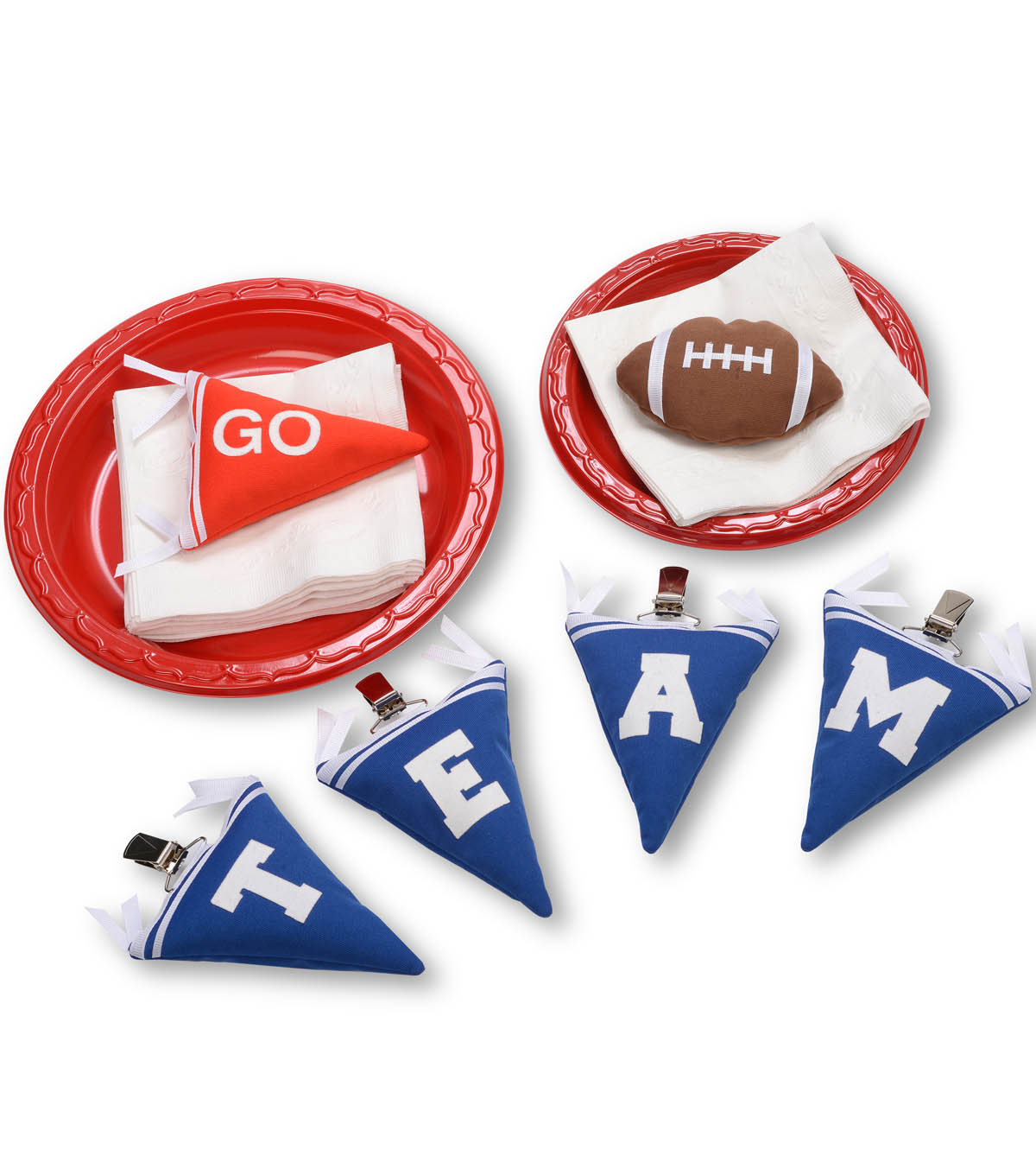 Tailgate Party Tablecloth Weights