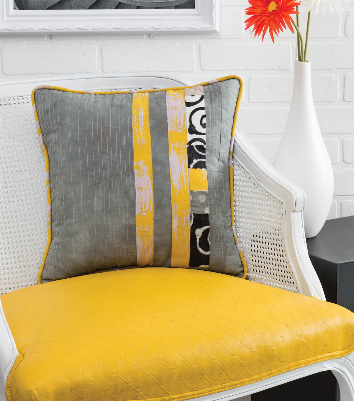 Vertical Stripe Pillow