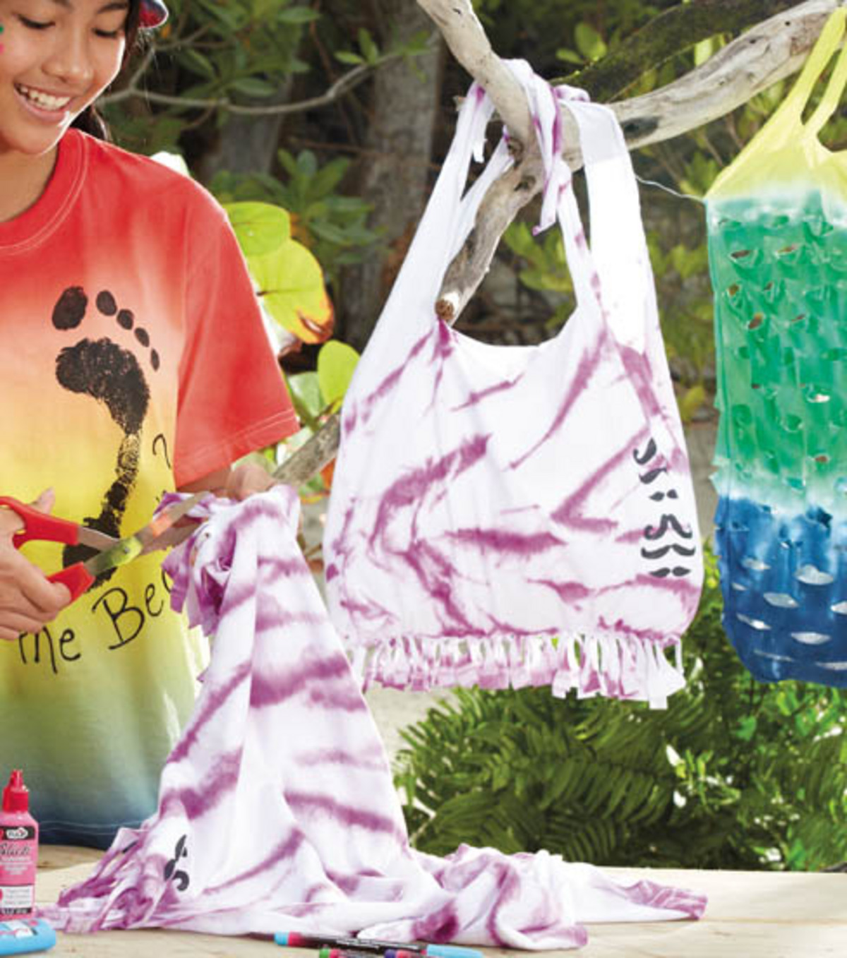 All-Tied Up Tie Dye Bag