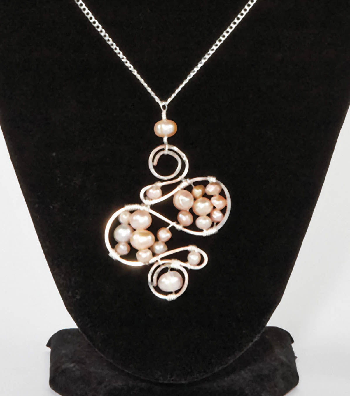 Pearls and Swirls Necklace