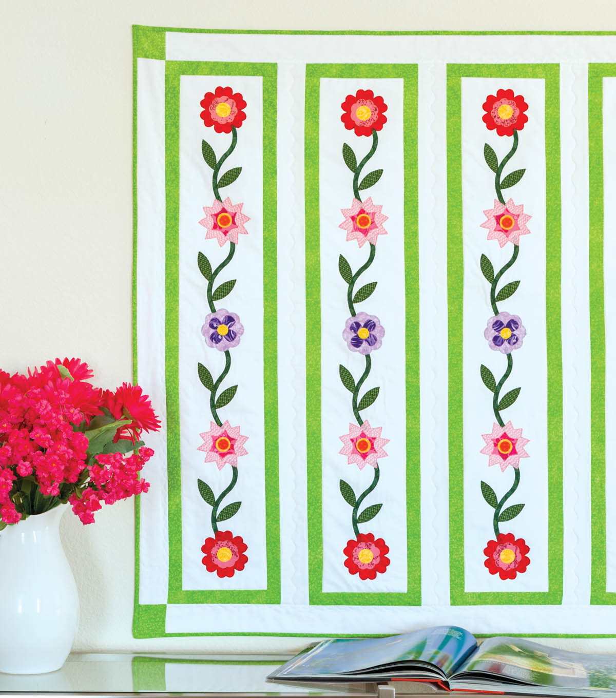 Go! Flower Ribbon Wall Hanging