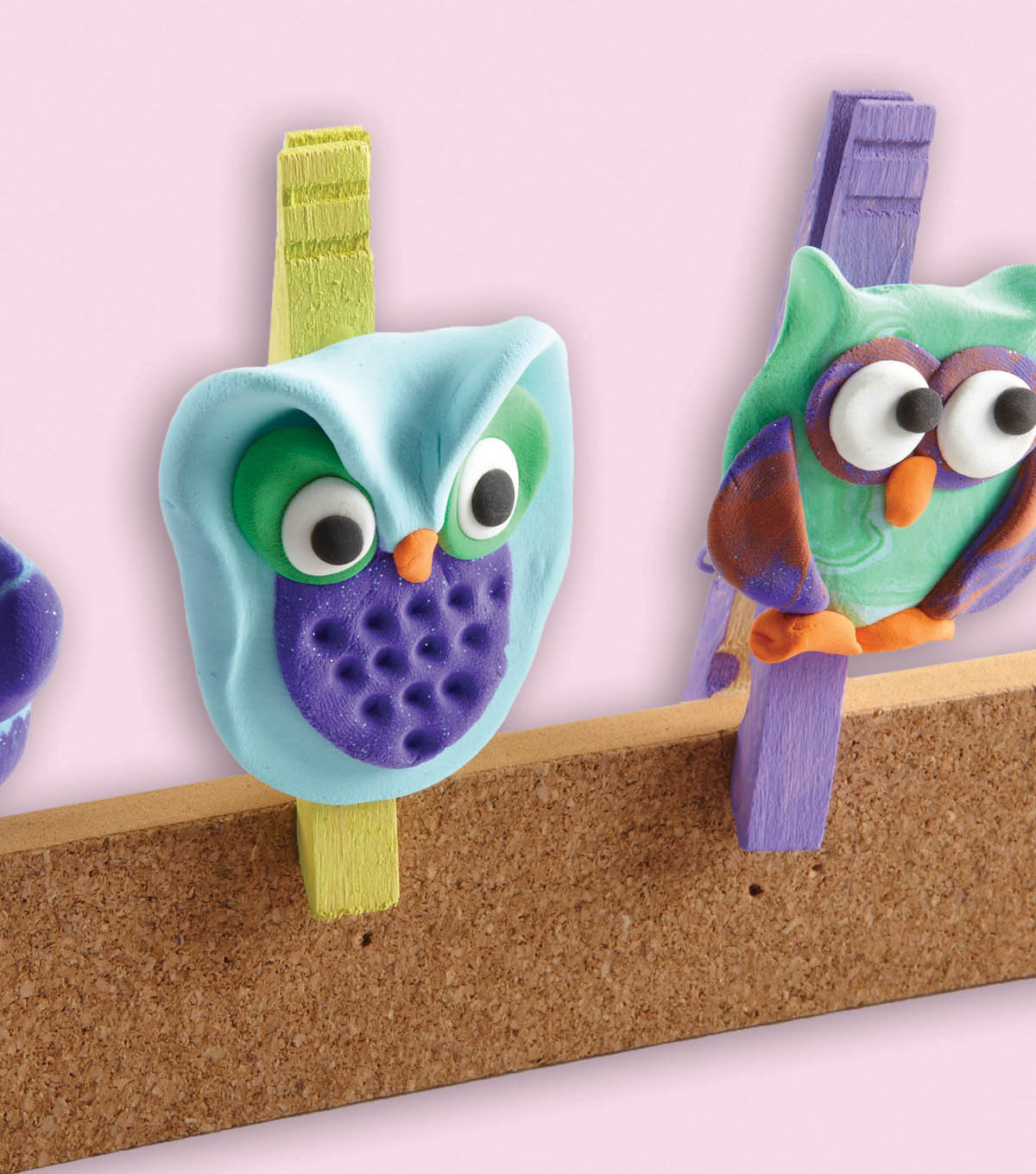 Owl Clothespins