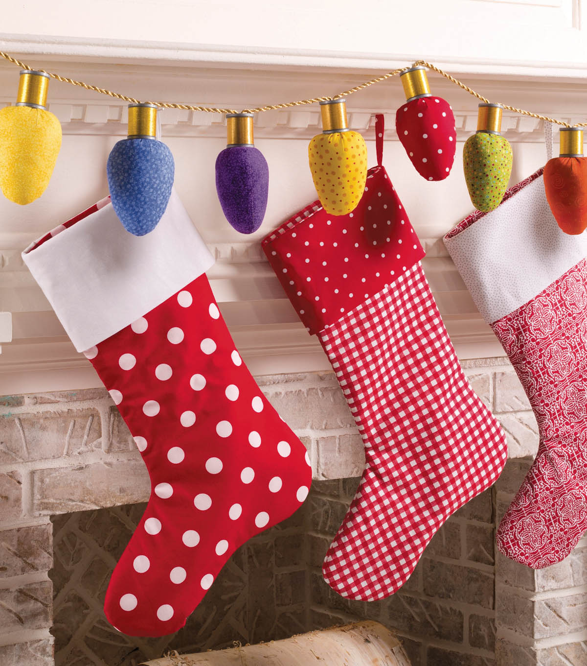 Fabric Christmas Lights