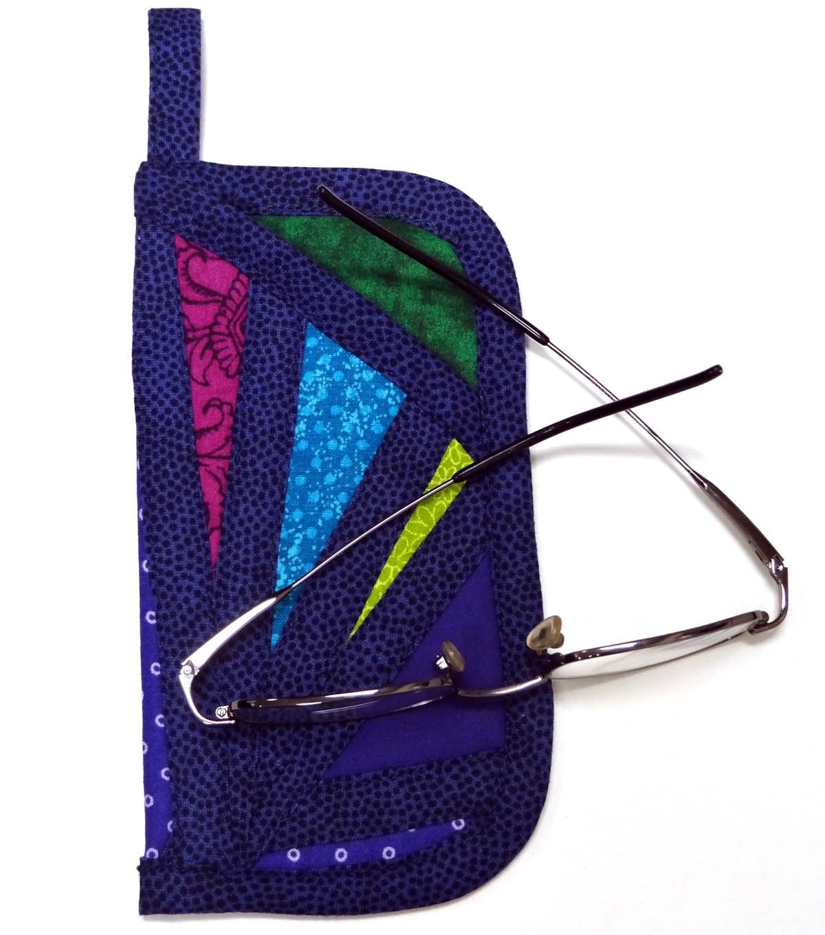 Stained Glass Eyeglass Case