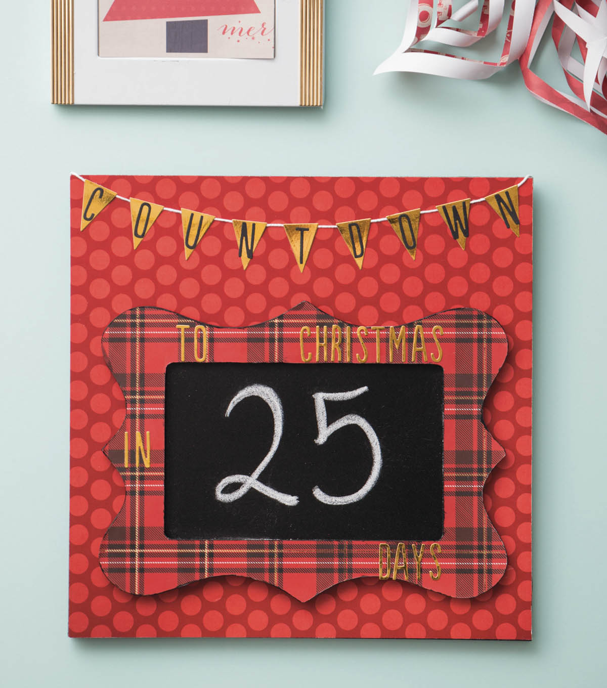 How To Make A Countdown Decor