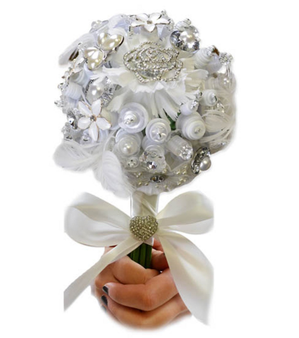 Bliss Button Bouquet