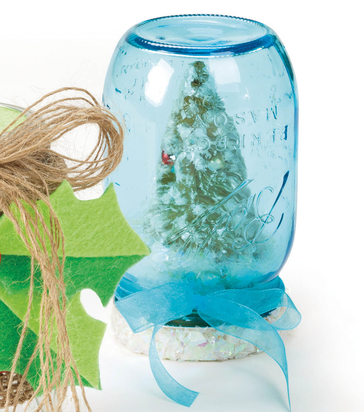 Ball Jars Snowglobe