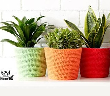 Simple Flower Pot Cozy