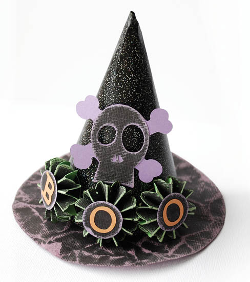 Boo Witches Hat Table Decor