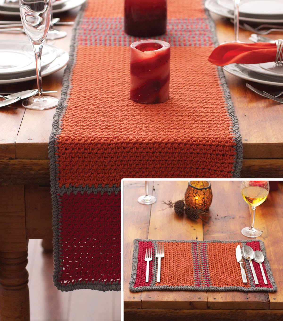 Harvest Table Runner and Matching Placemats