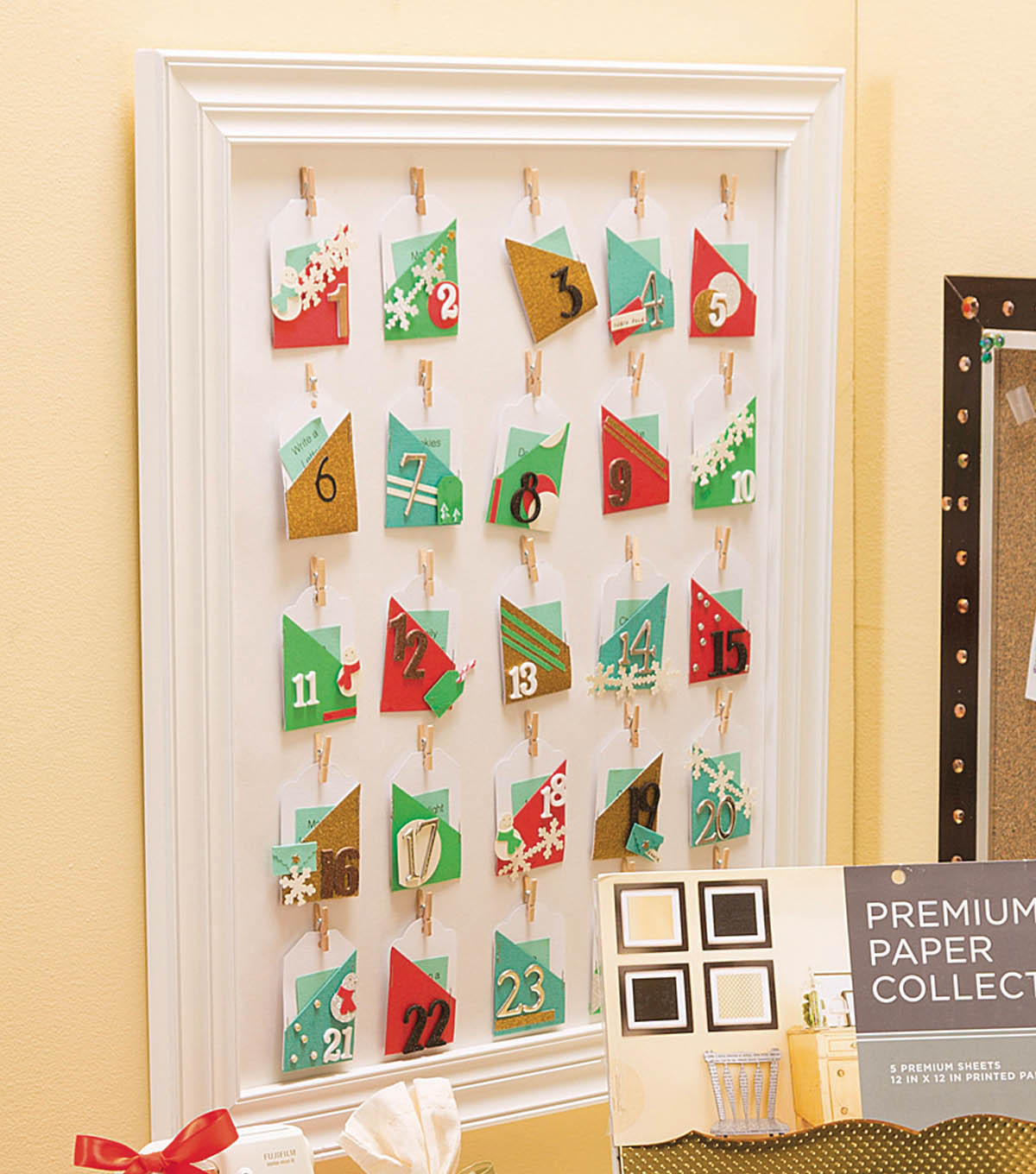Holiday Bulletin Board Pennant