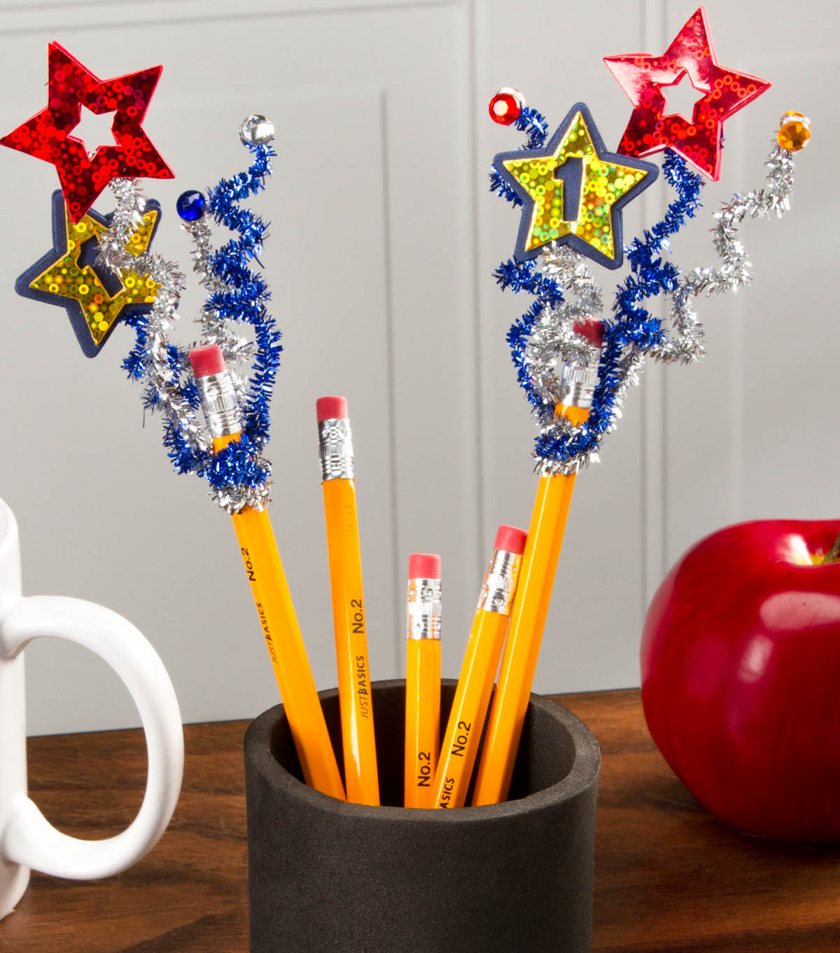 Team Spirit Pencil Toppers