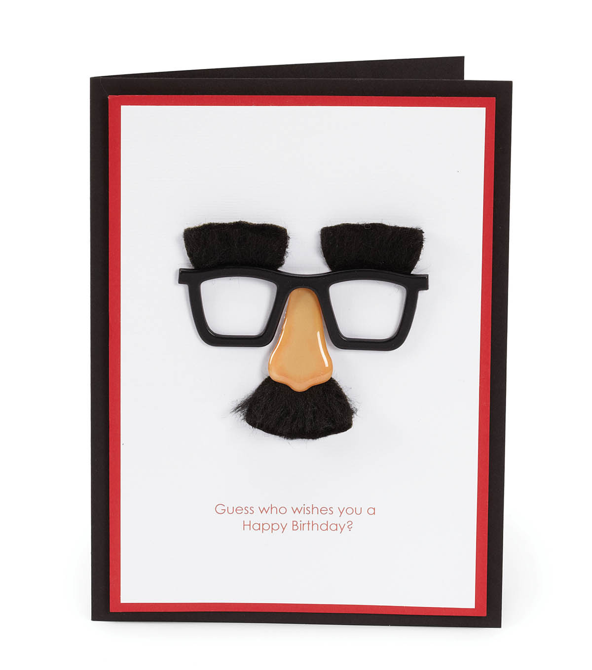 Mini Nose and Glasses Card
