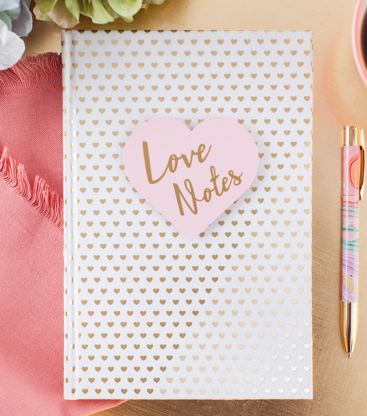 How To Make A Love Notes Notebook