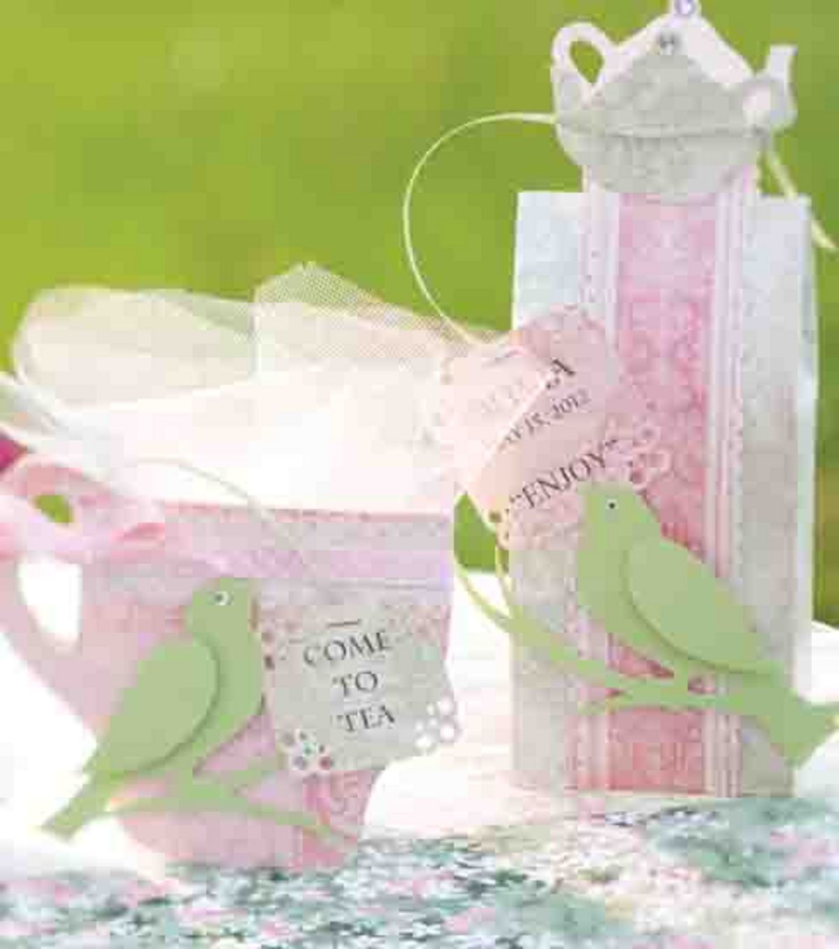 Tea Time Invitation & Favor