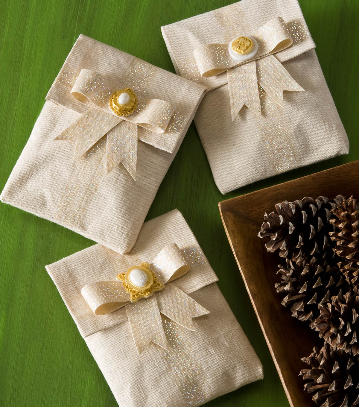 Mod Mold Canvas Gift Bags