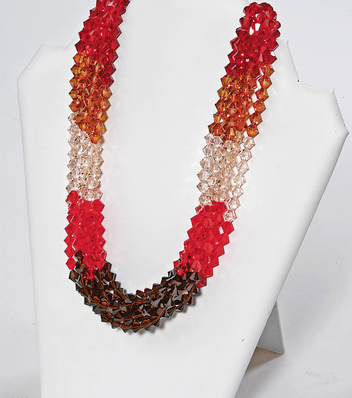 Ombre Fire Necklace