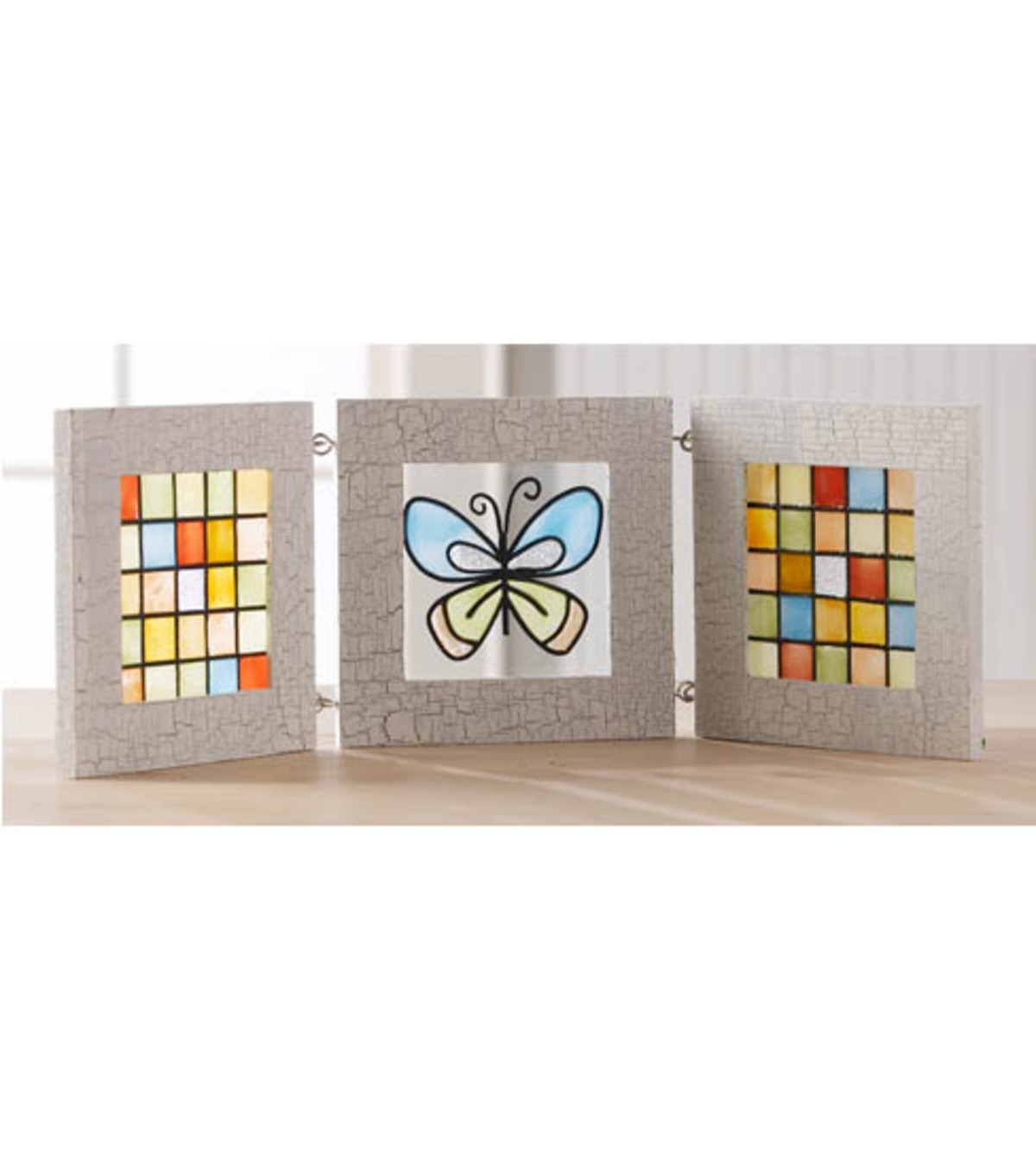 Butterfly Triptych Frame