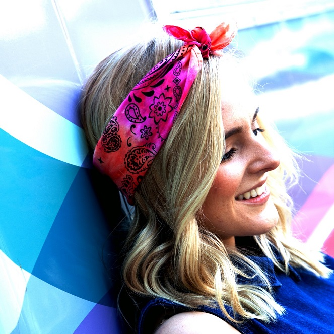 Awesome Accessory Tie-Dye Bandana