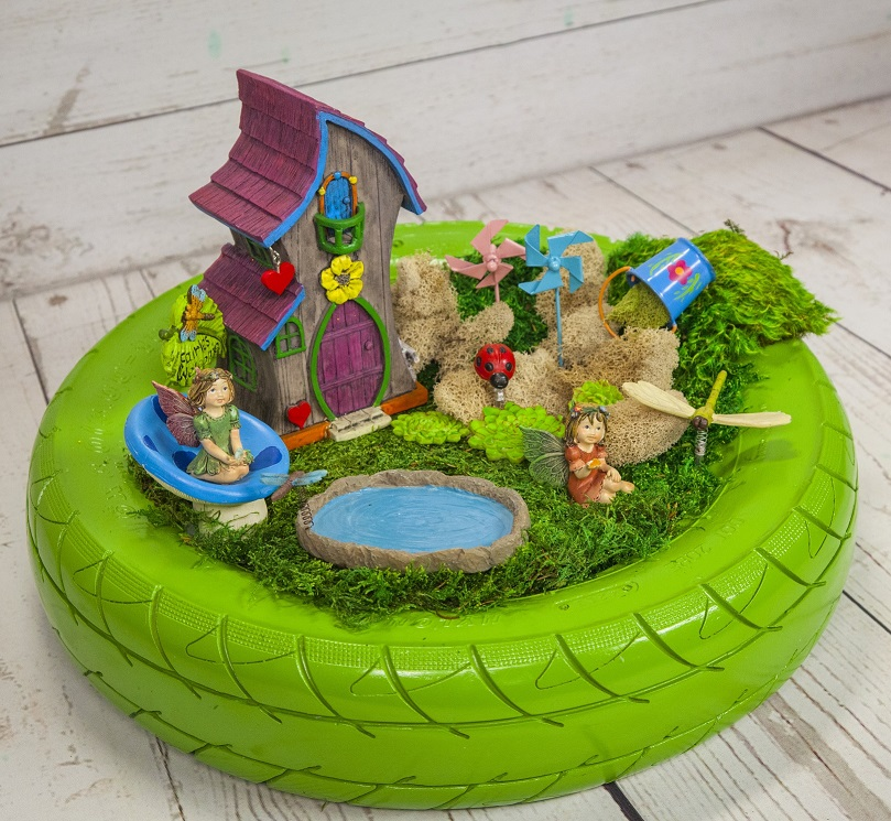 Summer Brights Fairy Garden