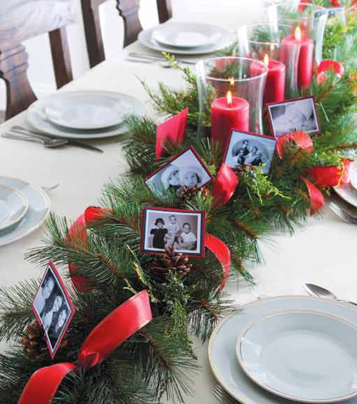 Family Holiday Tablescapes