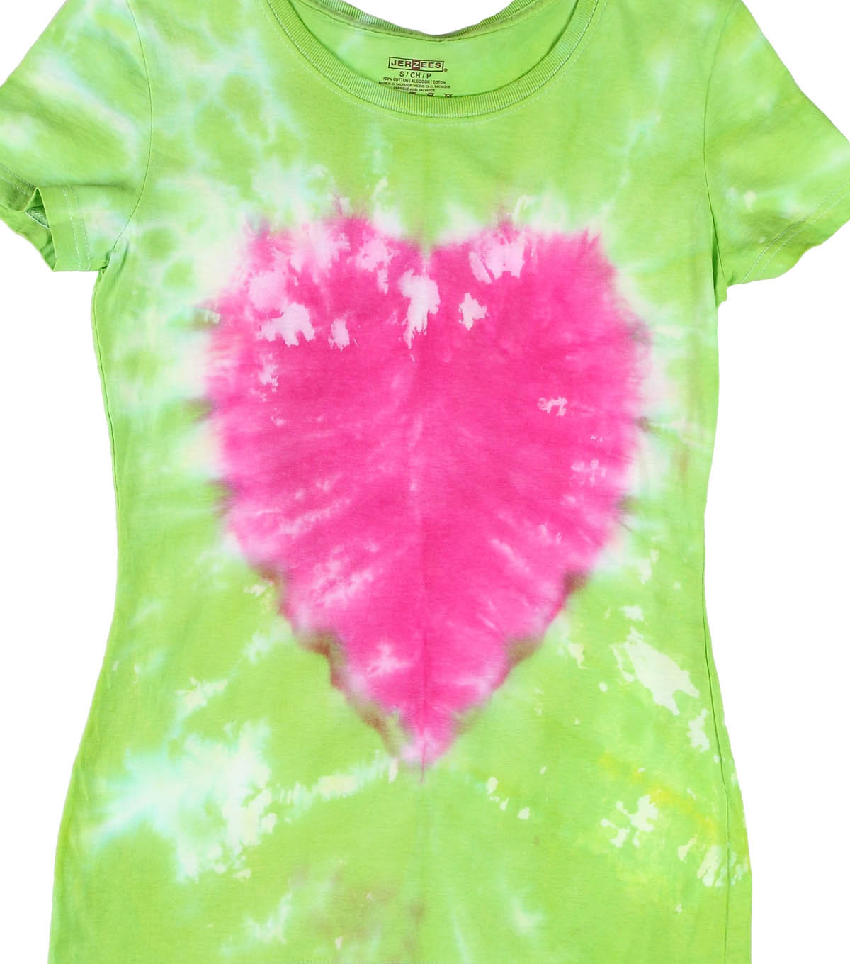Tropical Twist Heart Technique T-Shirt