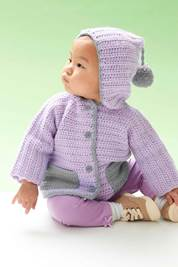 Hooded Baby Cardigan