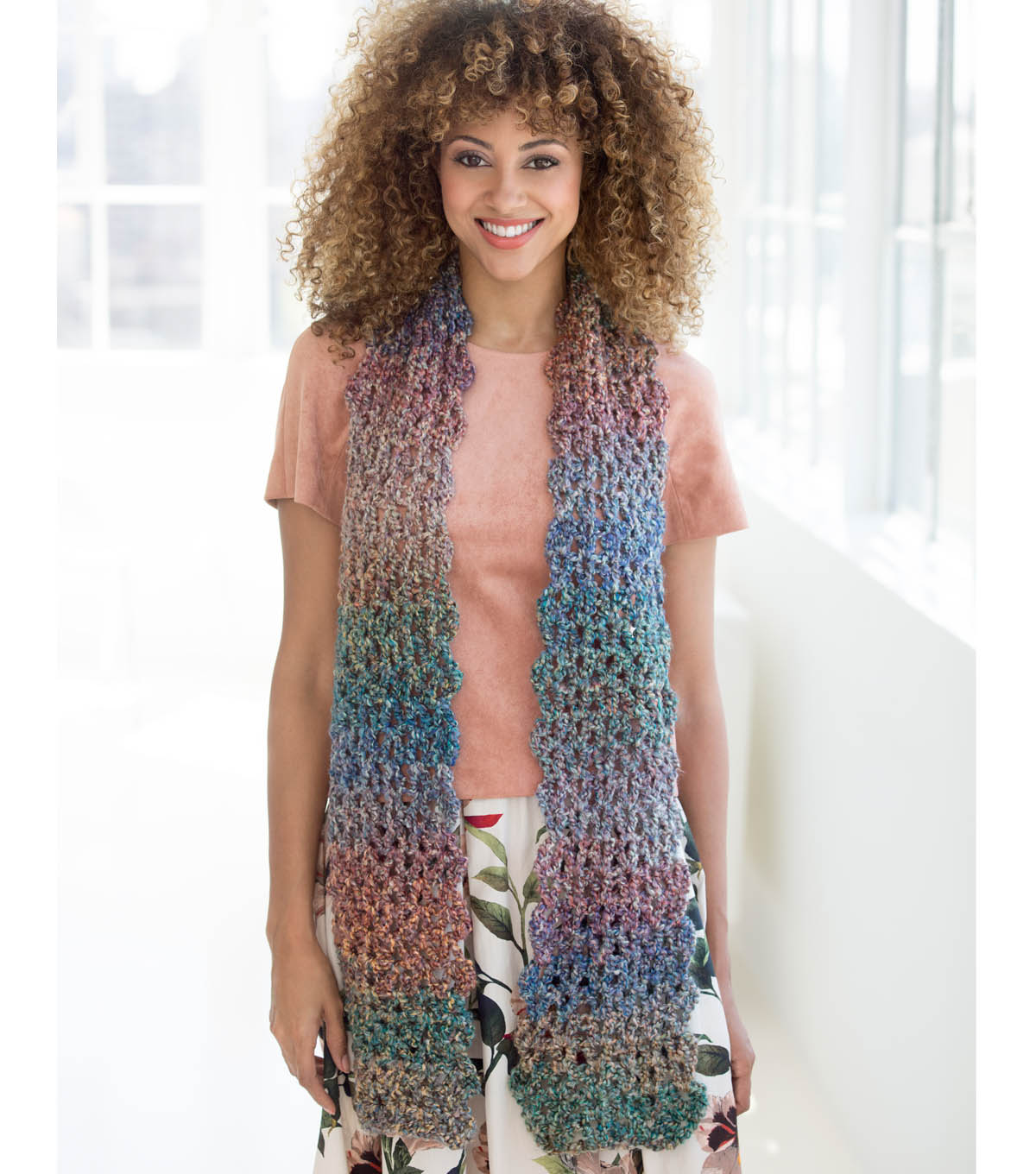 How To Make A Verona V-Stitch Scarf