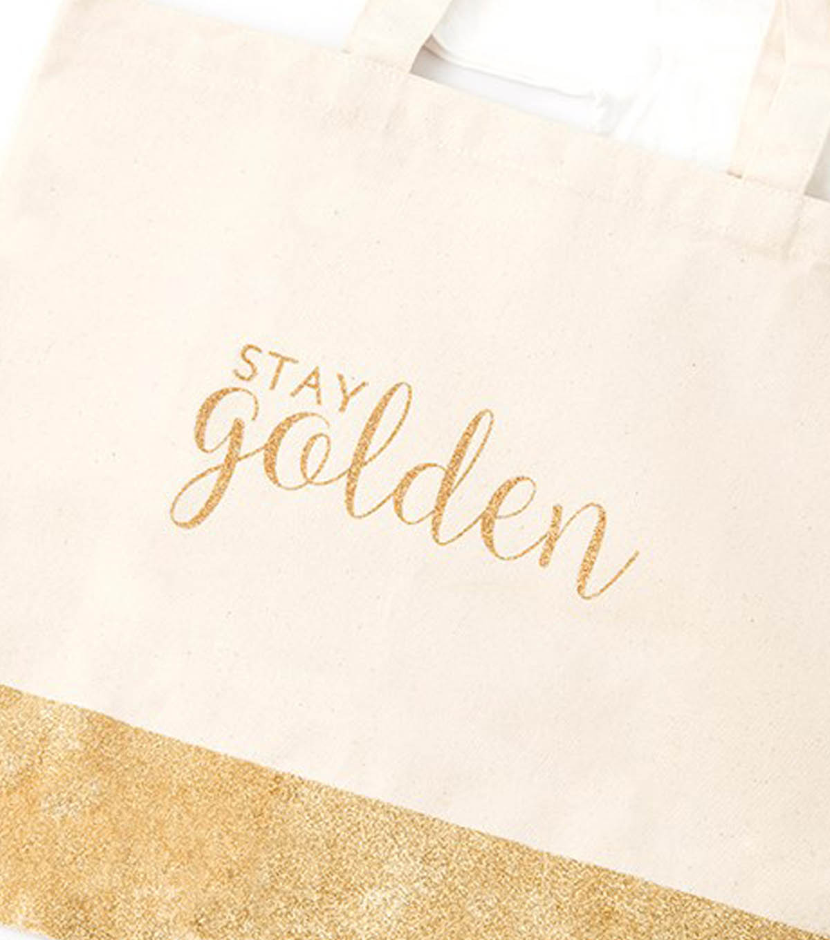 Stay Golden Canvas Tote Bag