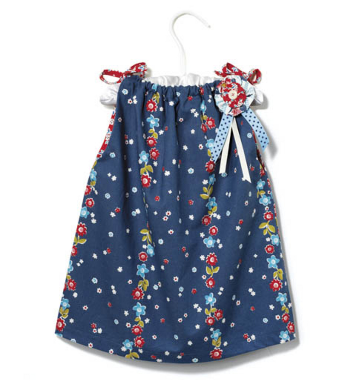 Shoulder Tie Toddler Dress