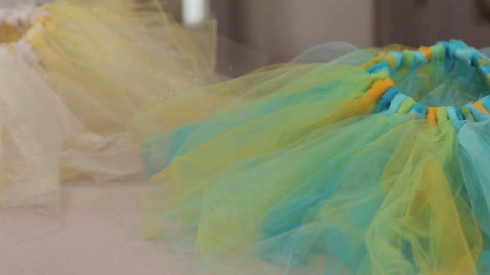 Make A Beautiful No Sew Tutu With Tulle