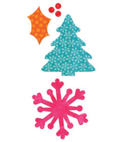 AccuQuilt Go. Fabric Cutting Die Holiday Medley