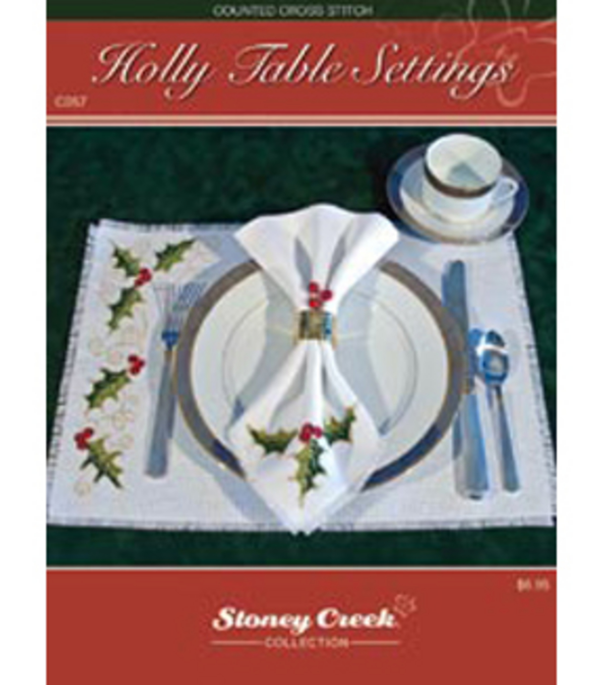 Stoney Creek Counted Cross Stitch Chart Pack-Christmas Snowman