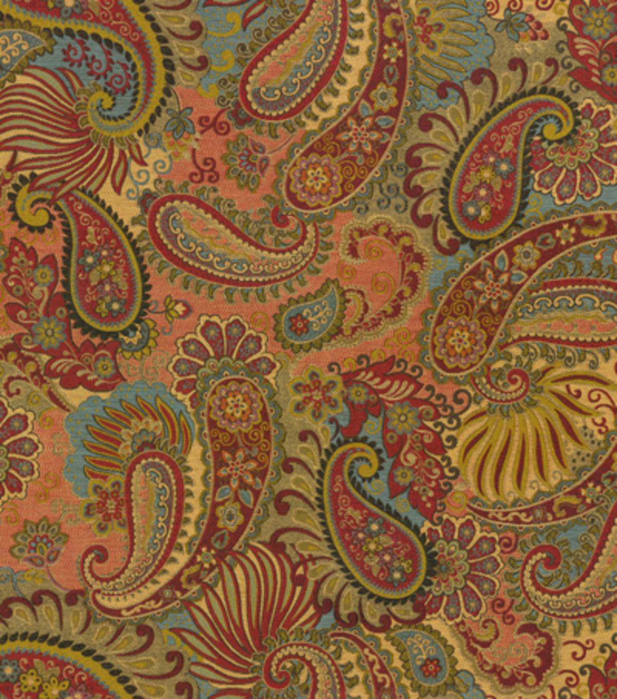 Home decor print fabric smc designs mix it up carnival for Home decor fabric