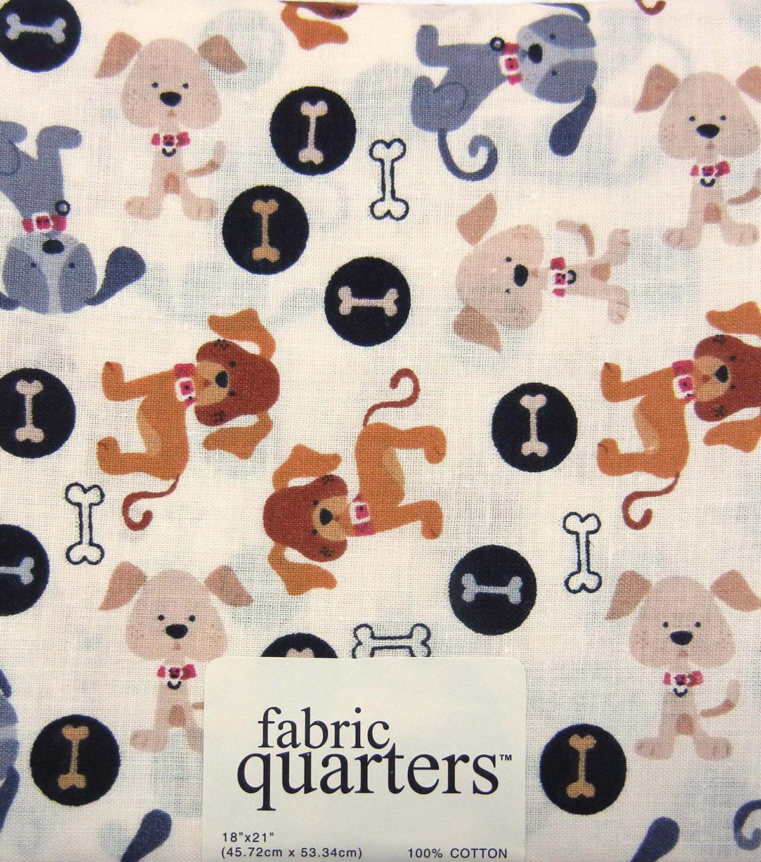 Dog Fabric Quarter Assorted