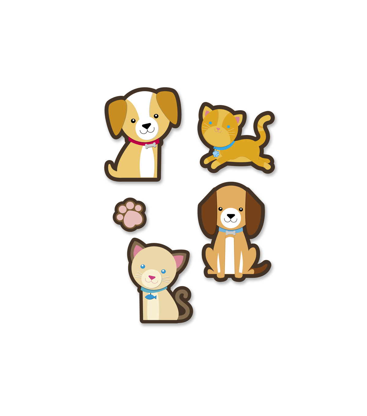 Sticker Packs - Dogs & Cats