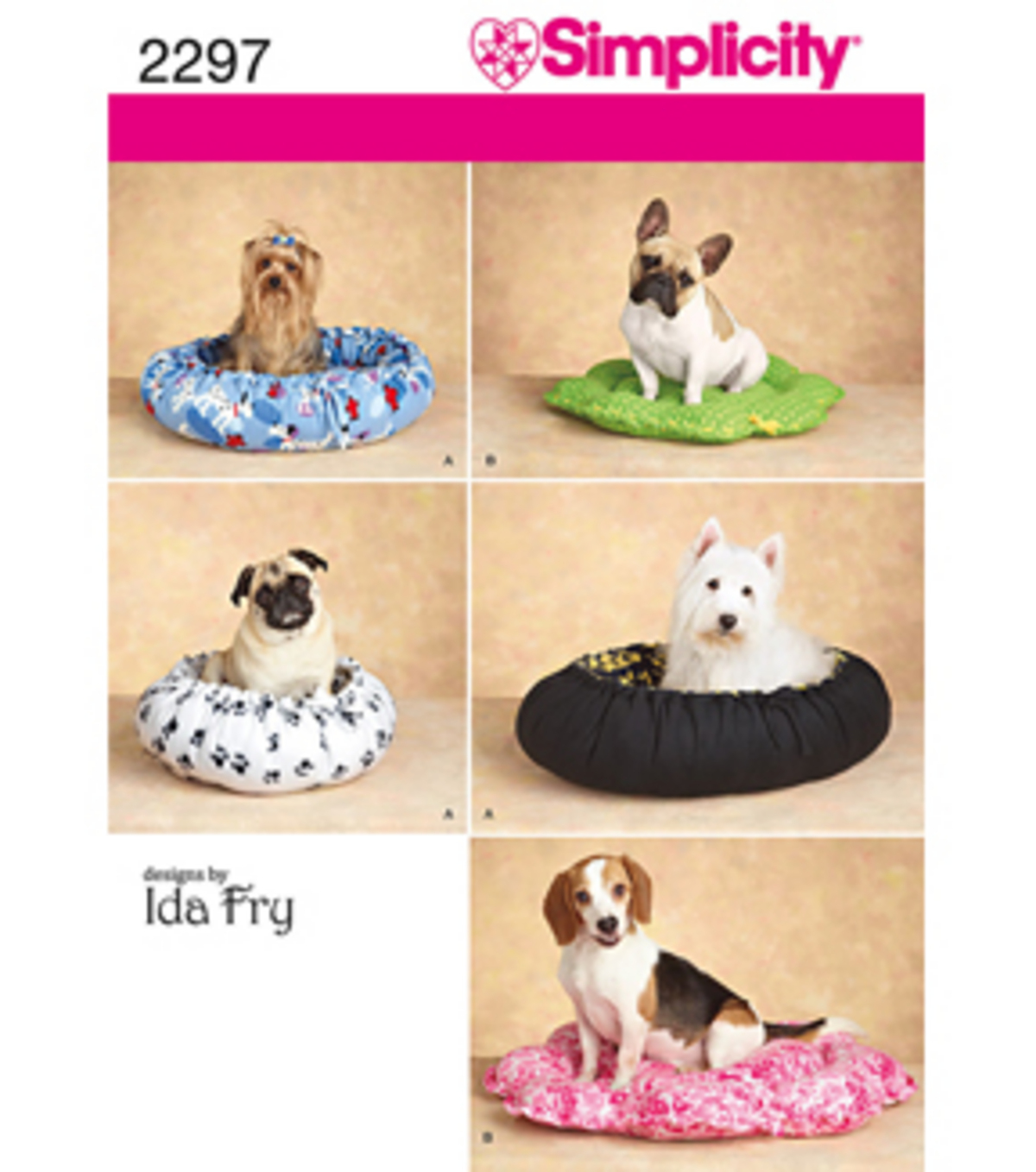 2297-Craft Dog Beds-All Sizes