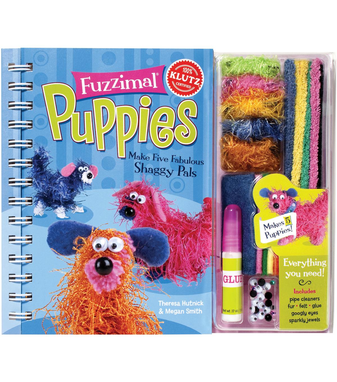 Fuzzimal Puppies Book Kit