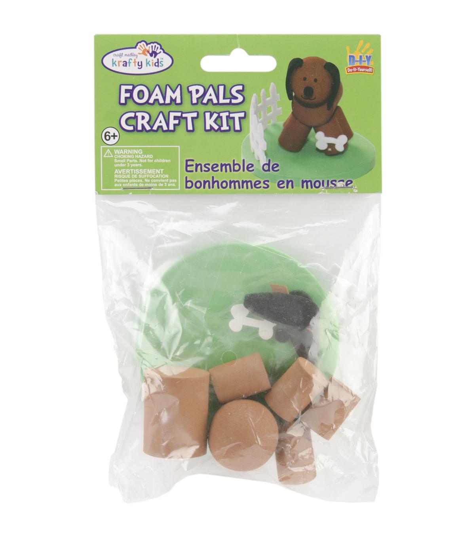Foam Pals DIY Craft Kit-Dog