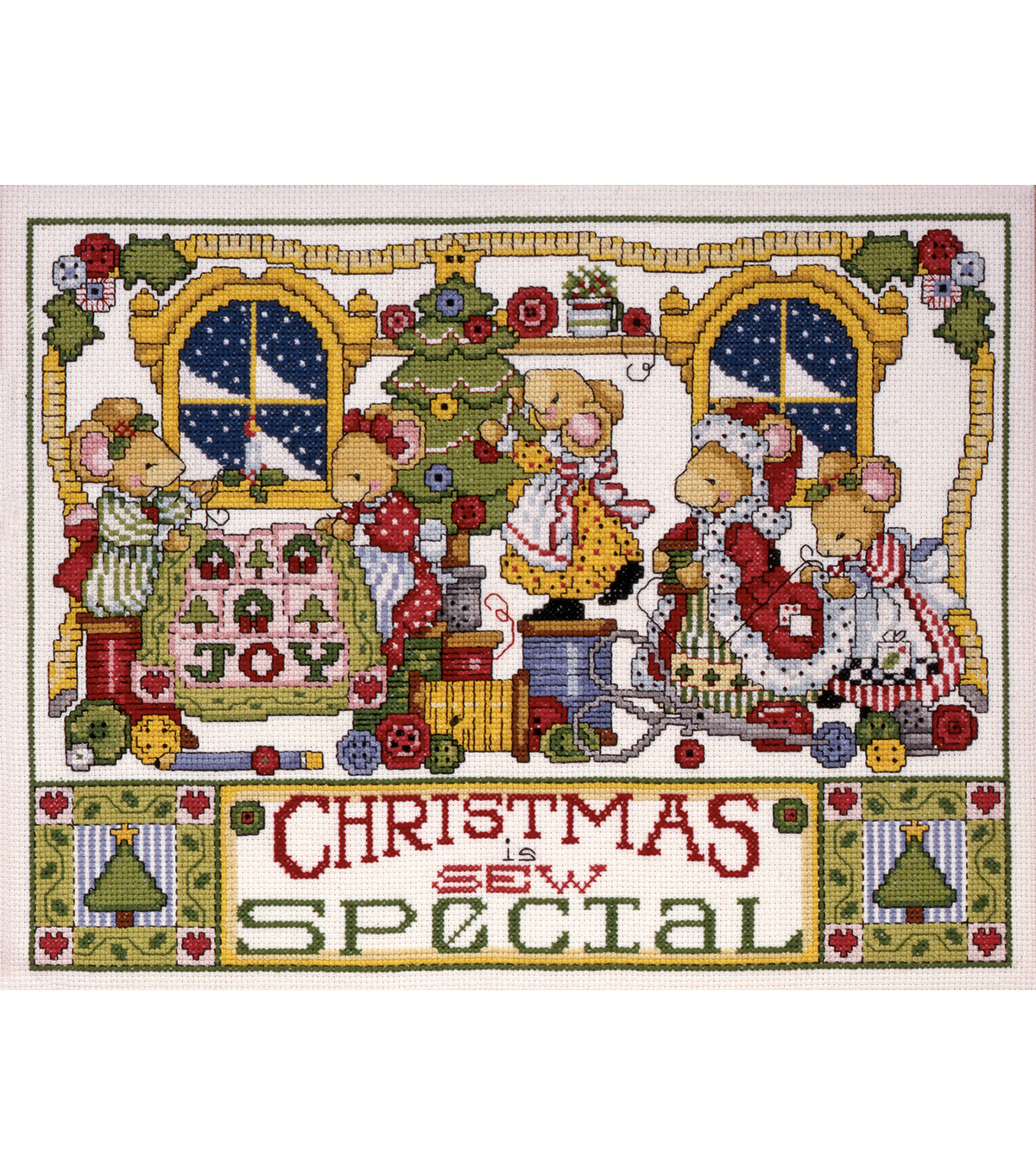 Tobin Special Counted Cross Stitch Kit Christmas Is Sew