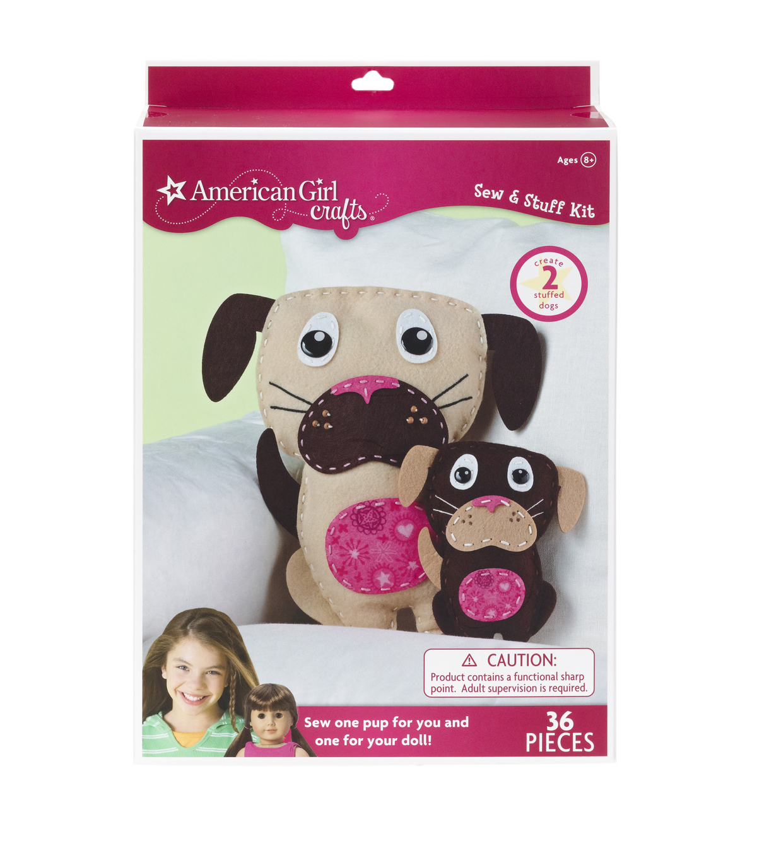 American Girl Crafts Dogs Sew & Stuff Kit