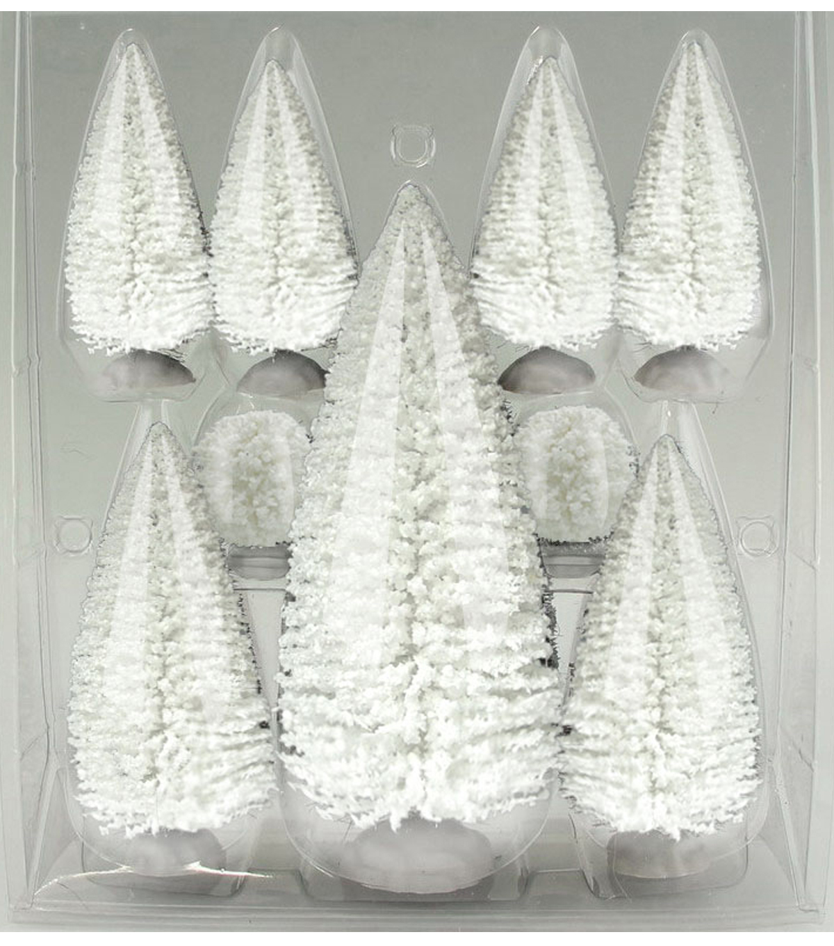 Holiday Inspirations White Trees Value Pack Set of 9