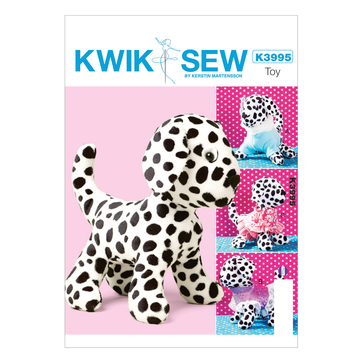 Toy Dog and Clothes- Pattern